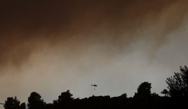 Τεράστια ήταν η φωτιά στην Εύβοια