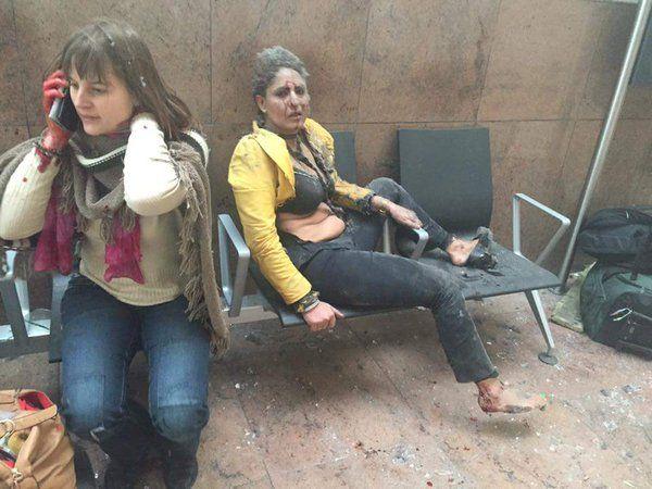 Βίντεο: Η στιγμή της έκρηξης στο αεροδρόμιο των Βρυξελλών
