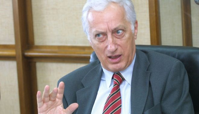 Ο πρώην υπουργός Δικαιοσύνης, Μιχάλης Σταθόπουλος