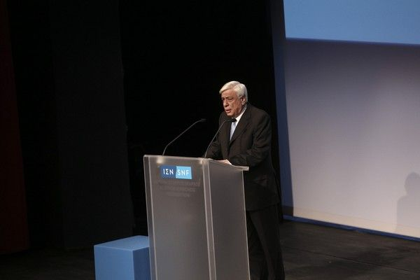 Delivery ceremony of Stavros Niarchos Foundation Cultural Center (SNFCC) to the Greek Society,  in Athens, on Feb. 23, 2017 /          ()  ,  ,  23 , 2017