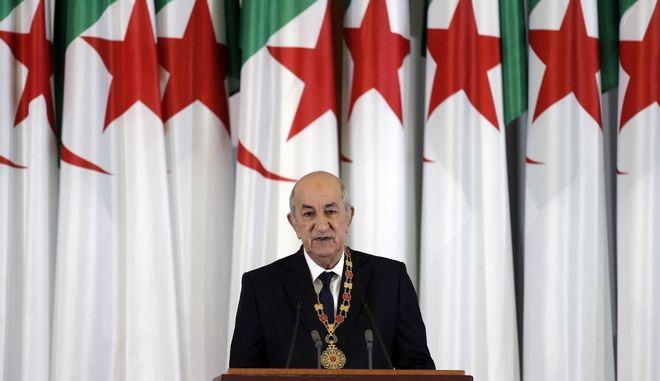 Ο πρόεδρος της Αλγερίας Αμπντελματζίντ Τεμπούν