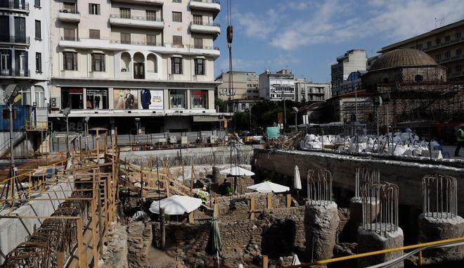 Έργα για το Μετρό Θεσσαλονίκης