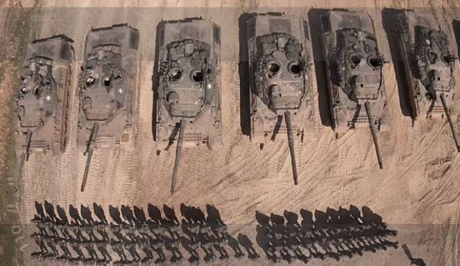 Εντυπωσιακό βίντεο ετοιμότητας του Ελληνικού Στρατού στον Έβρο