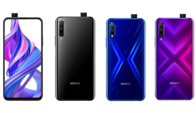 HONOR 9X: νέα smartphones με οθόνη χωρίς εγκοπές και pop-up selfie κάμερα