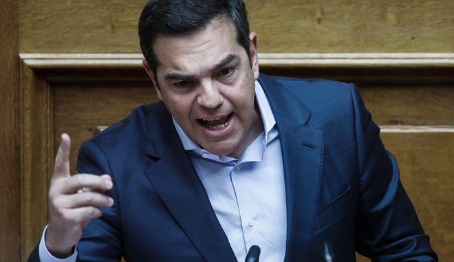Συζήτηση, κατόπιν αιτήματος του Πρωθυπουργού κ. Κυριάκου  Μητσοτάκη, με αντικείμενο την ενημέρωση του Σώματος για την ποιότητα της Δημοκρατίας και του Δημοσίου Διαλόγου, την Πέμπτη 25 Φεβρουαρίου 2021. (EUROKINISSI/ΓΙΩΡΓΟΣ ΚΟΝΤΑΡΙΝΗΣ)