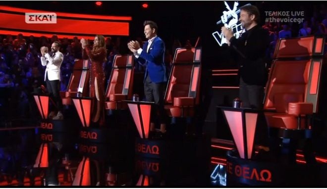 The Voice: Τι τηλεθέαση έκανε ο τελικός;