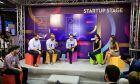 83η ΔΕΘ: Ο Κυριάκος Μητσοτάκης στο περίπτερο των startup