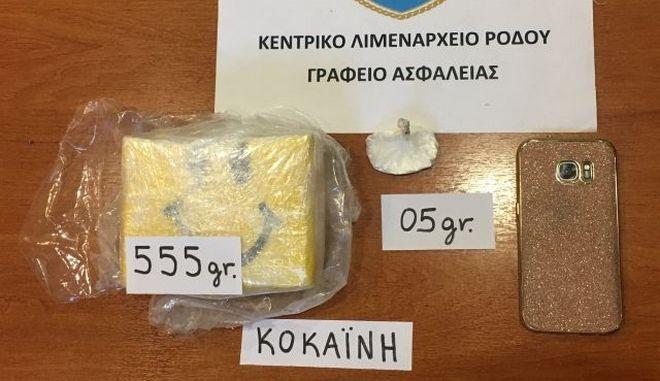 Συνέλαβαν 32χρονη με μισό κιλό κοκαΐνη στη Ρόδο