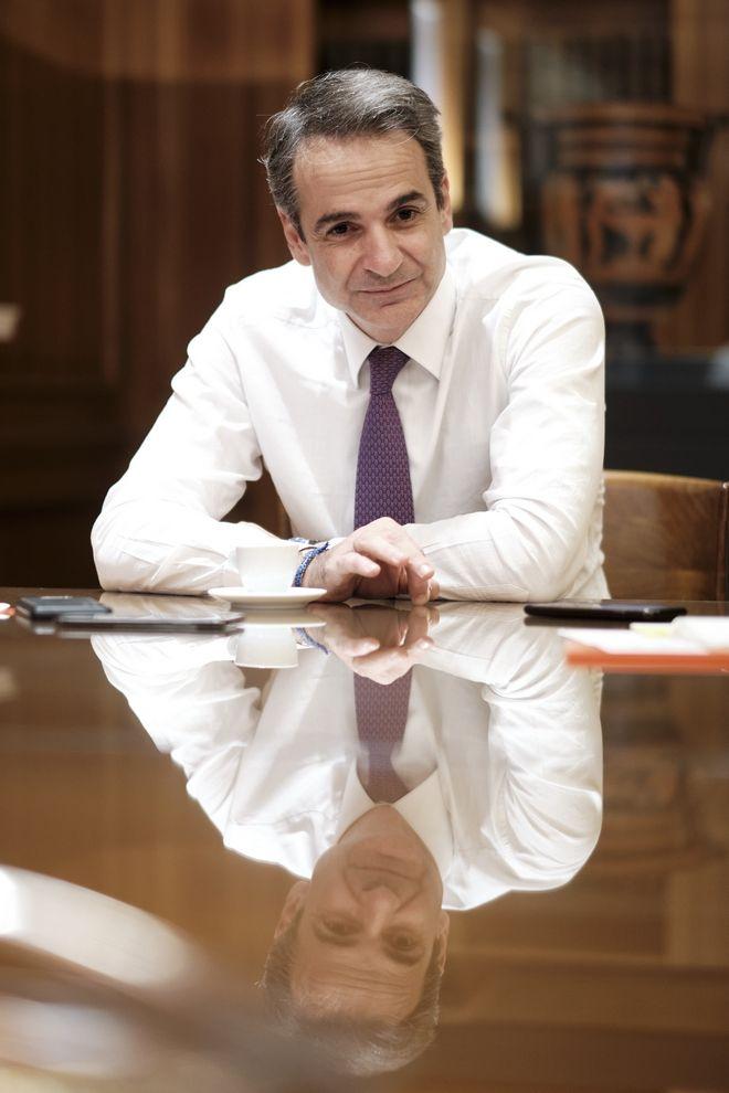 Ο Πρωθυπουργός Κυριάκος Μητσοτάκης μιλά στη γερμανική εφημερίδα Bild