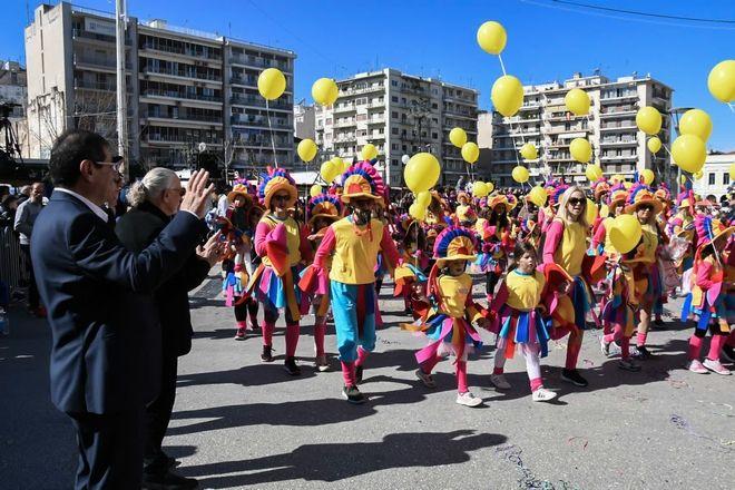 Καρναβάλι των Μικρών στην Πάτρα την Κυριακή 23 Φεβρουαρίου 2020