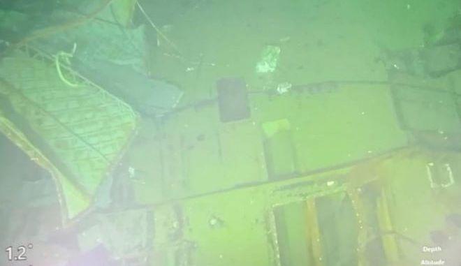 Μέρη από το υποβρύχιο του Ινδονησιακού Ναυτικού KRI Nanggala