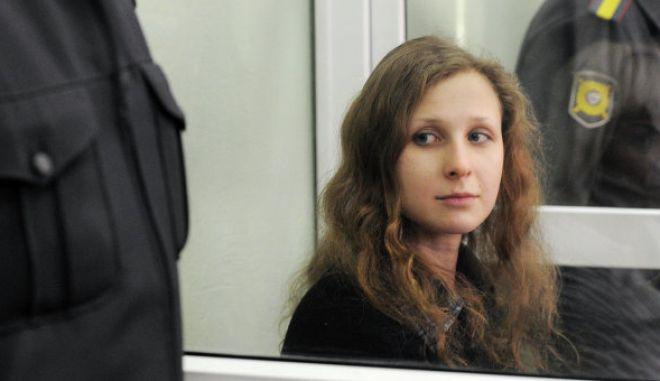 Αφέθηκε ελεύθερη η Μαρία Αλιόκινα των Pussy Riot