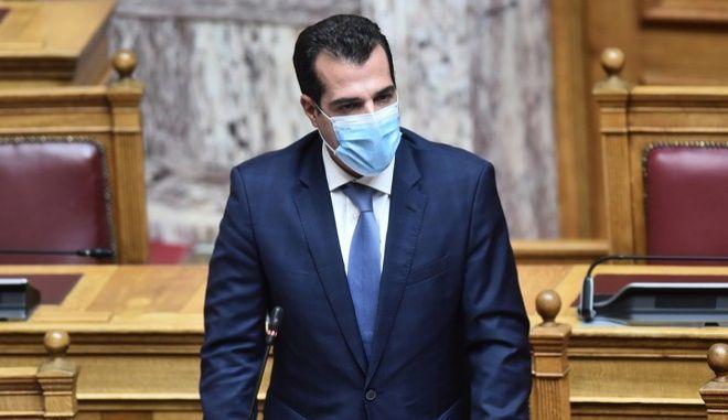 Ο υπουργός Υγείας, Θάνος Πλεύρης.