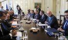 Συνεδρίαση του υπουργικού συμβουλίου.