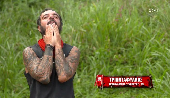 "Survivor 4: Η ερωτική εξομολόγηση του Τριαντάφυλλου στη σύζυγό του και η ""χλιαρή"" απάντηση"
