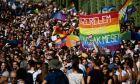 Παρέλασης υπερηφάνειας στη Βουδαπέστη της Ουγγαρίας