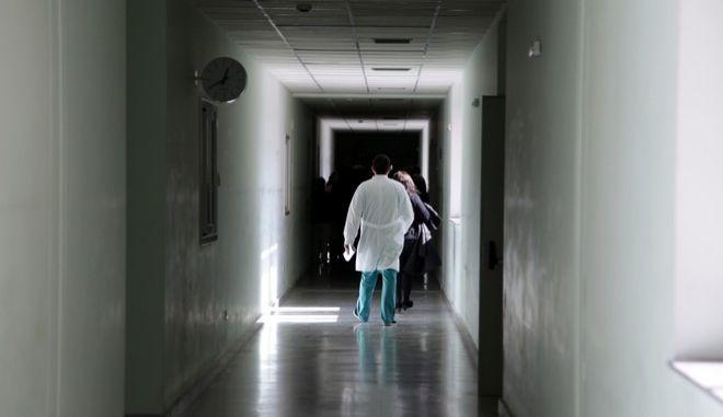 """Διάδρομος στο νοσοκομείο """"Αττικόν"""""""