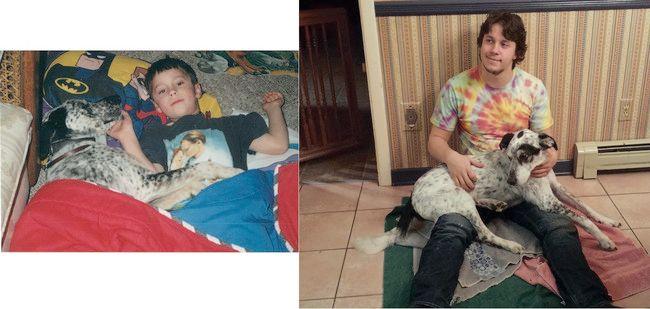 Συγκινητικό: Η πρώτη και η τελευταία φωτογραφία με τα κατοικίδια τους