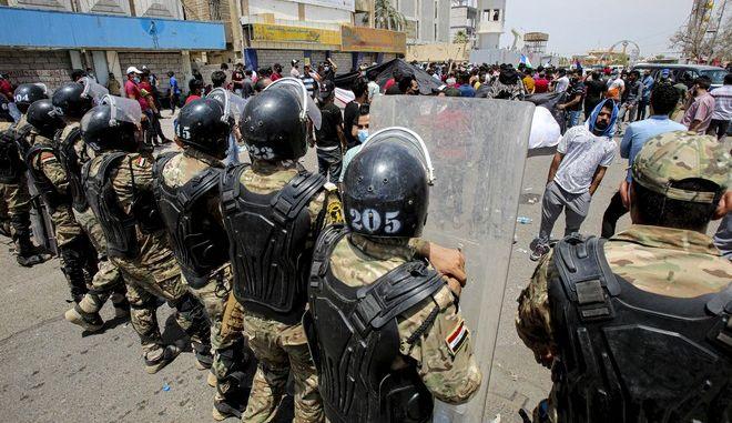 Διαδήλωση Ιράκ