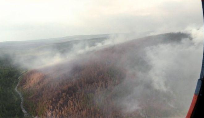 Χάος από το μέγεθος της φωτιάς στη Σιβηρία