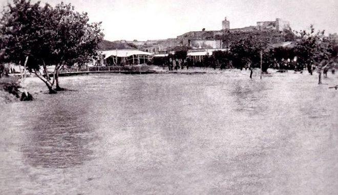 Η πλημμύρα του Ληθαίου ποταμού το 1907