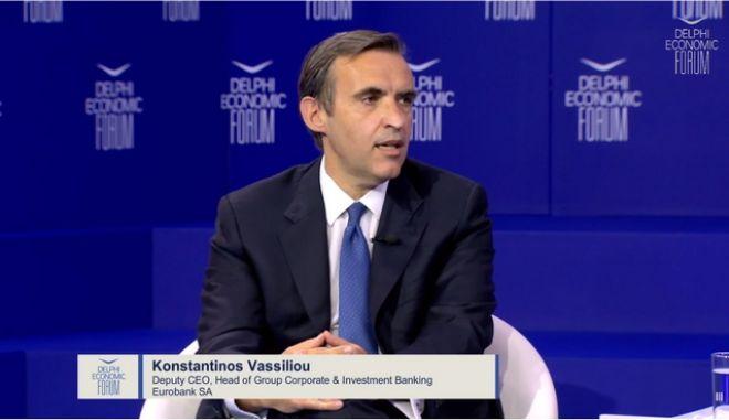 Κ. Βασιλείου (Eurobank): Το κλειδί της βιώσιμης ανάπτυξης μέσα από το Ταμείο Ανάκαμψης