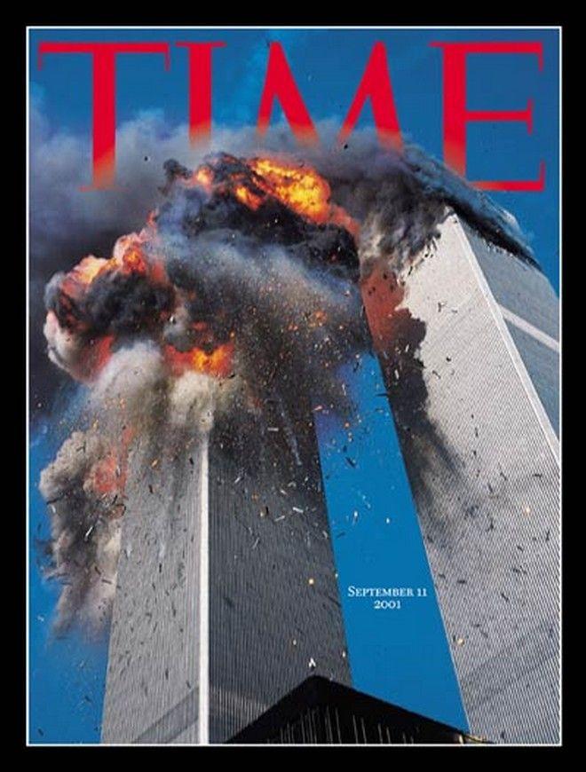Το εξώφυλλο του TIME μετά την επίθεση στους Δίδυμους Πύργους