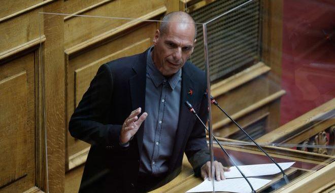 Βουλή: Δικογραφία κατά Βαρουφάκη για το επεισόδιο στην Αίγινα