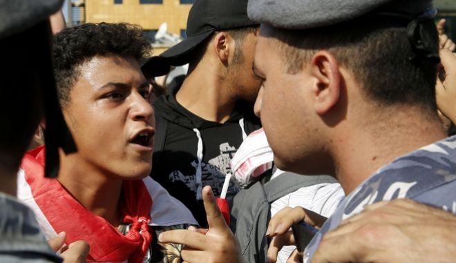 Αντικυβερνητικές διαδηλώσεις στον Λίβανο