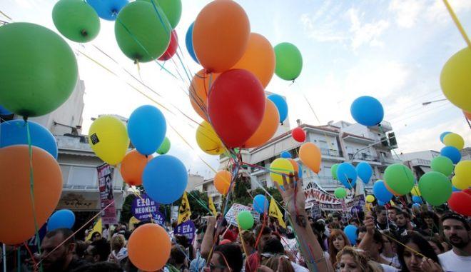 ΚΕΡΑΤΣΙΝΙ-Συλλαλητήριο στη μνήμη του Παύλου Φύσσα.(EUROKINISSI-ΚΩΣΤΑΣ ΚΑΤΩΜΕΡΗΣ)