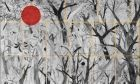Βηρυτός: Καλλιτέχνης ζωγραφίζει δέντρα για να βοηθήσει στην ανοικοδόμηση κατοικιών
