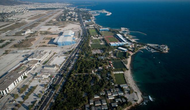 Ο χώρος του παλαιού αεροδρομίου.