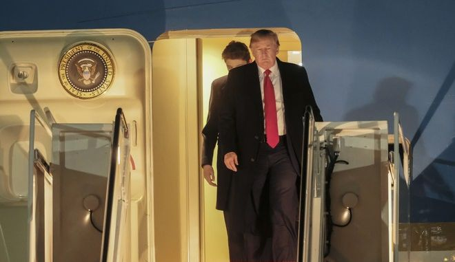 Ο Πρόεδρος Donald Trump