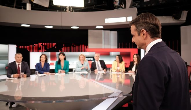 Συνέντευξη του Προέδρου της Νέας Δημοκρατίας Κ. Μητσοτάκη στον τηλεοπτικό σταθμό ALPHA