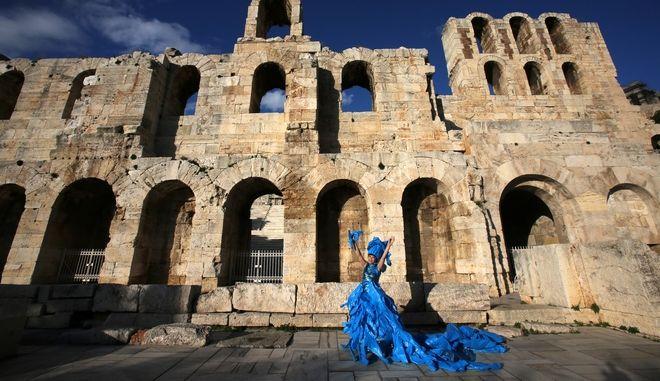 Performance στη σκιά της Ακρόπολης για το περιβάλλον
