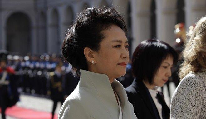 Η πρώτη κυρία της Κίνας Peng Liyuan