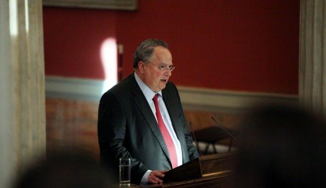 ΑΘΗΝΑ-Εκδήλωση για το βιβλίο του πρώην υπουργού Ευριπίδη Στυλιανίδη «Θράκη: Το επόμενο βήμα».(Eurokinissi-ΖΩΝΤΑΝΟΣ ΑΛΕΞΑΝΔΡΟΣ)