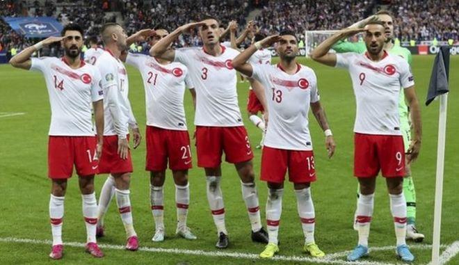 Η UEFA ξεκινά πειθαρχική έρευνα για την Τουρκία