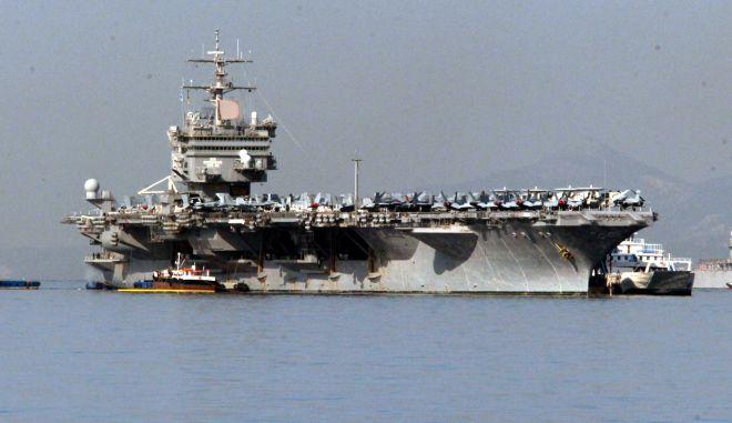 ΑΘΗΝΑΤΟ ΑΕΡΟΠΛΑΝΟΦΟΡΟ USS ENTERPRISE ΣΤΟ ΦΑΛΗΡΟ (EUROKINISSI/ ΓΙΑΝΝΗΣ ΠΑΝΑΓΟΠΟΥΛΟΣ)