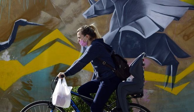 Μετακίνηση με ποδήλατο κατά τη διάρκεια του lockdown
