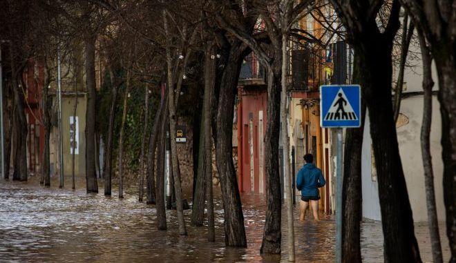 Πλημμύρες στην Ισπανία (φωτογραφία αρχείου)