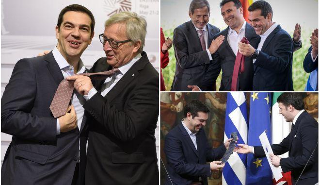 """Τσίπρας σε Παυλόπουλο: """"Πρέπει να βρω πουκάμισο για γραβάτα"""""""