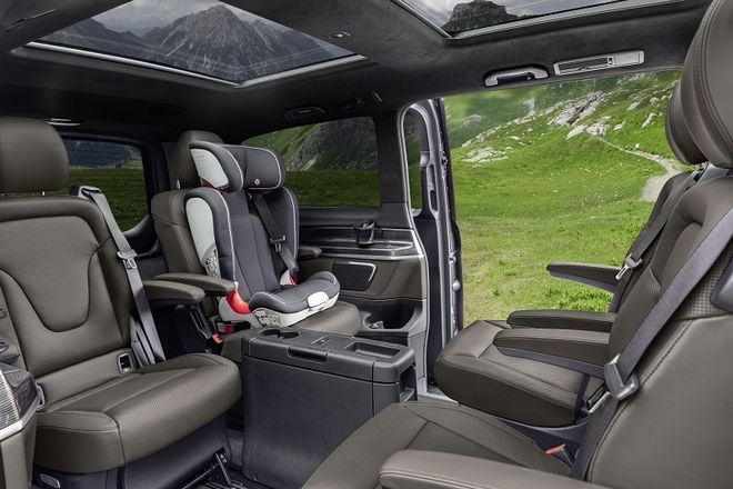 Εντυπωσιάζει η ανανεωμένη Mercedes V-Class
