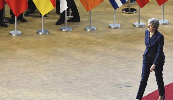 Δύσκολα τα πράγματα για την Τερέζα Μέι στις Βρυξέλλες