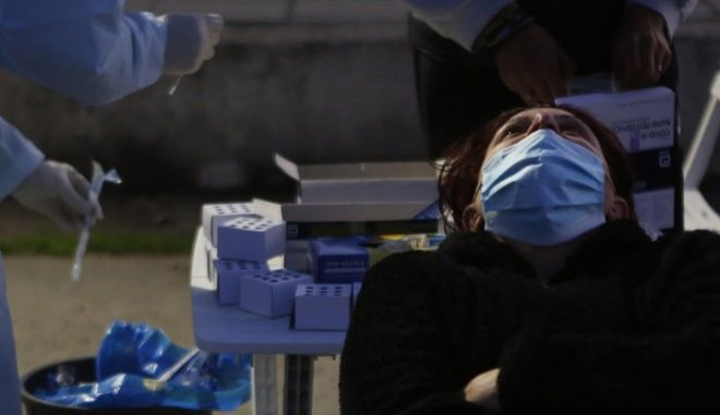 Διενέργεια rapid test στην Κύπρο
