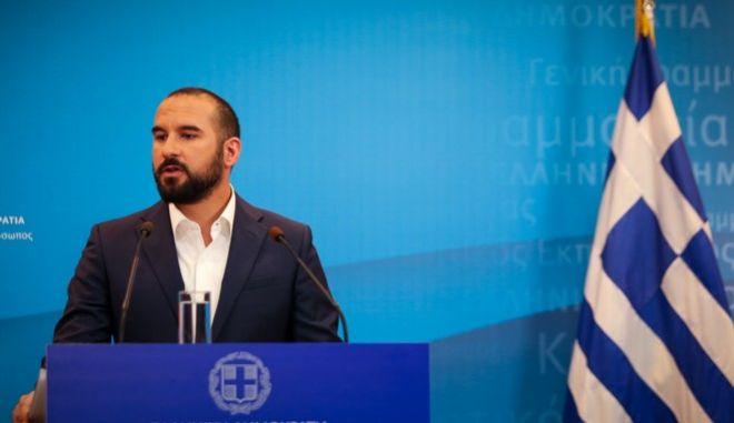 Ο κυβερνητικός εκπρόσωπος, Δημήτρης Τζανακόπουλος