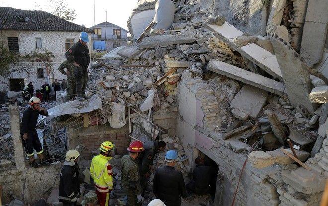 Σεισμός στην Αλβανία: Κατάρρευση κτιρίων