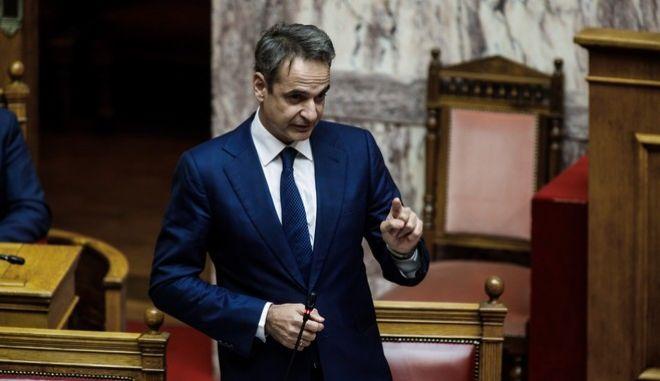Συζήτηση στη Βουλή για την κυβερνητική πολιτική σχετικά με την αντιμετώπιση της πανδημίας