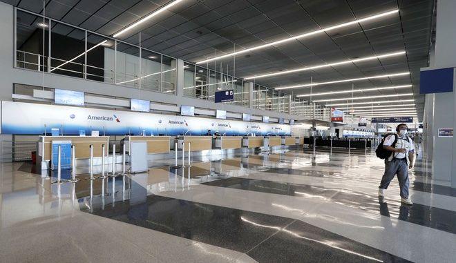 Άδειο αεροδρόμιο