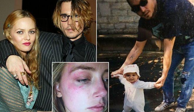 Στο πλευρό του Johnny Depp η κόρη του και η Vanessa Paradis